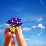 Darujte let balónem jako originální dárek!
